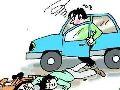 【刑法】打开车门致人摔倒死亡,轿车司机获刑六个月,重了吗?——交通肇事罪